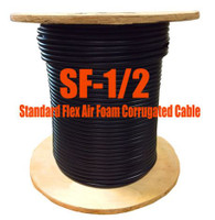 Standard Flex 50 Ohm Coax Cable Bulk 500' Reel (Compare to (LDF4-50A -1/2) - SF12D