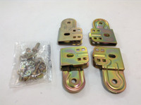 "INLINE PIVOT CLAMP KIT 1-1/2"" YELLOW ZINC 2 SET"