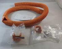 FGSO-MEX1-C-5F 2-inch flex tube attachment orange 5-ft