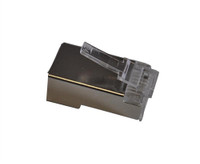 TXM CAT6PLGS CAT6 RJ45 Shielded Plug 50 Micron Plating