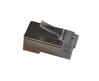 TXM CAT5EPLGS CAT5E RJ45 Shielded Plug  50 Micron Plating