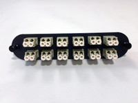 CCH FOOTPRINT 24 FIBER LCU DUPLEX Multimode Adapter Plate - FPC-12PM5LCU2B (CCH-CP24-D3)
