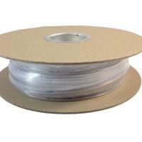 "TXM 14HSCFR50FT 1/4"" Heat Shrink Tubing 2:1 Clear PVC #10 #12 (50')"