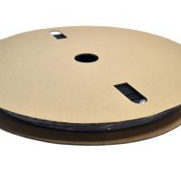 "TXM 14HSBFR50FT 1/4"" Heat Shrink Tubing 2:1 Black PVC #10 #12 (50')"