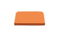 "Alcatel-Lucent 106855208 8""x4"" End Cap TCEC8X4ORN (Orange)"