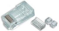Platinum Tools 106172C RJ45 (8P8C) Cat6 HP, Round-Stranded.  25/Clamshell.