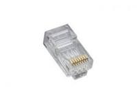 Platinum Tools 106162C RJ45 (8P8C) Cat5e HP, Round-Stranded.  25/Clamshell.