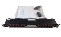 """Trimm 9072101001 Breaker Panel 6/6 Position, Stud Input, Barrier Strip Output, ±24-48V DC, (19"""")"""