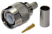 TNC Male Connector For RG58/RG142/RG223/RG400/LMR195/LOW195