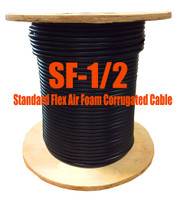 Standard Flex 50 Ohm Coax Cable Bulk 1000' Reel (Compare to LDF4-50A -1/2) SF12M