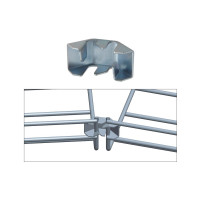 FASTLOCK FOR TRAY BENDS, ZINC