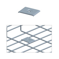 CENTRAL HOLD DOWN, 2PCS/SET, ZINC