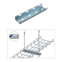 "CEILING HANGING BAR, ZINC 4"",6"",8"" or 12"""