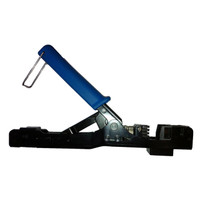 CRIMPING TOOL RJ45 AND SLIM-STYLE 90 DEGREE KEYSTONE JACKS