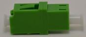 LC/APC Simplex Green Singlemode Coupler w/o flange