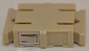 SC Duplex Beige Multimode Coupler with reduced flange