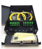 FPW-04-24-SM2-SCA-1-3M Fiber Distribution Panel Loaded with 24 OS2 SM SCA Simplex with Fiber Spool and 3M Pigtails