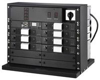 INV-STSSS-2U Inverter Chassis, Static Bypass and controller, for 100A static bypass switch