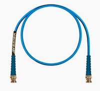 DSX-3 PATCH CORD BNC TO BNC TRANSMIT RG59 CABLE BLUE 10FT - BNCTX-10