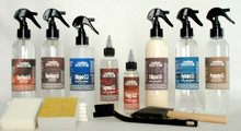 Kit-N3.pgd - Nubuck Leather Paint, Grease & Dye Stain Remover Kit