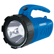 Rechargeable LED Spotlight / Torch  - Blue