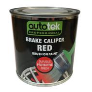 Red Brush On Brake Caliper Paint - 250 ml