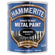 Black Hammerite, Smooth Finish  - 750 ml