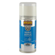 Hycote VW Candy White Acrylic Spray Paint - 150 ml
