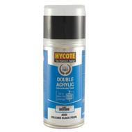 Hycote Satin Black Bumper Acrylic Spray Paint - 150 ml