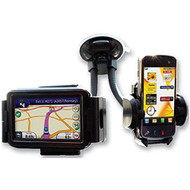 Twin Suction Cup Phone & Sat Nav Holder