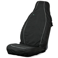 Air Bag Compatible Waterproof Seat Cover - Black