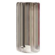 Straight Exhaust Pipe Chrome Trim - 54 mm Diameter