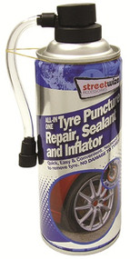 Emergency Tyre Sealer & Inflator - 450ml