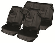 Universal Fit Water Resistant Nylon Seat Covers - Front & Rear