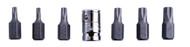 3/8 Drive Torx Bit Set inc Adaptor- T20 T25 T30 T40 T45 T50