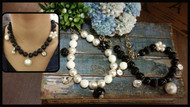 Pearl and Pendants Necklace