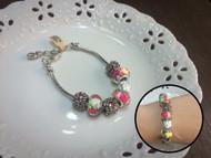 Colored Beads Bracelet