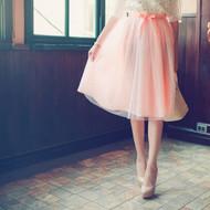 Gauze Tulle Skirt