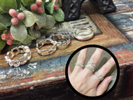 4 Pieces Ring Set