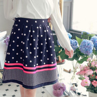 Sweet Polka Dot Skirt