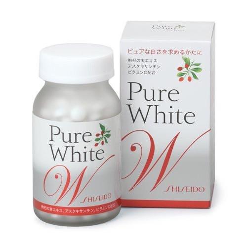 Shiseido Pure White W For Shiny Skin 270 Tablets