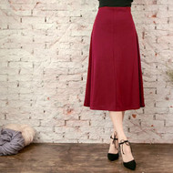 Plain Swing Skirt