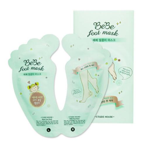 Etude House BeBe foot Mask 20ml*2 Shiny Baby Peeling Liquid