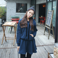 Hooded Pullover Dress