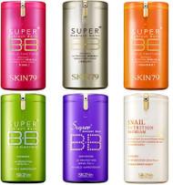 SKIN79 Super Plus BB Cream Series - Hot Pink, VIP Gold, Orange, Snail, Purple, Green