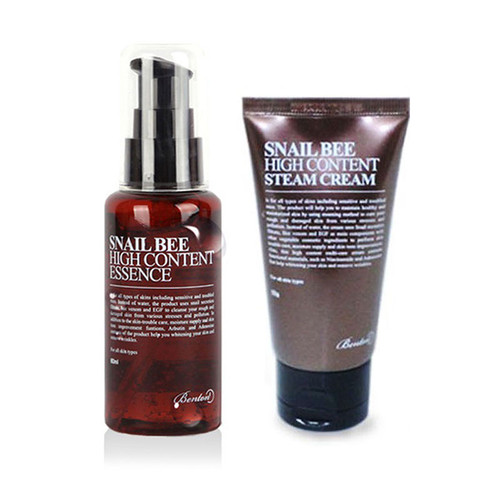 BENTON Snail Bee High Content Essence 60ml + Cream Tube 50g