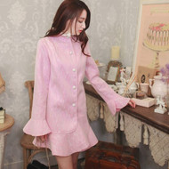 Lace Collar Coat