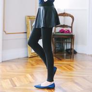 Leather Skirt Legging Set
