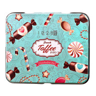 1028 Visual Therapy Toffee Eyeshadow Kit 2.1g x 6