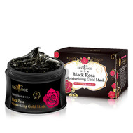 SexyLook Black Rosa Moisturizing Gold Facial Mask with Gold Particles 150ml